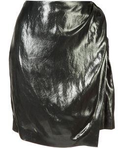 Iro | Wrap Front Skirt 42 Cupro