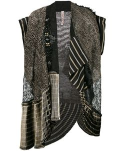 Antonio Marras | Embroidered Sleeveless Jacket