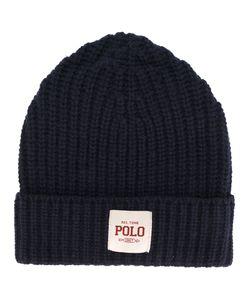 Polo Ralph Lauren | Шапка В Рубчик С Заплаткой С Логотипом