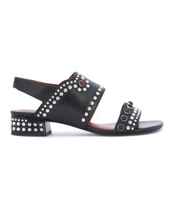 3.1 Phillip Lim | Studded Mid-Heel Sandals Calf