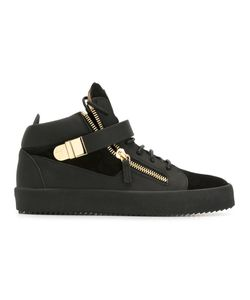 Giuseppe Zanotti Design | Carter Mid-Top Sneakers 41.5 Leather/Rubber