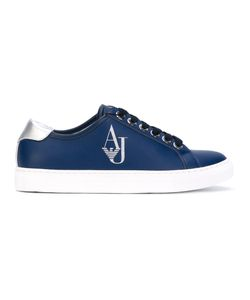 ARMANI JEANS | Logo Stamp Sneakers Polyester/Synthetic