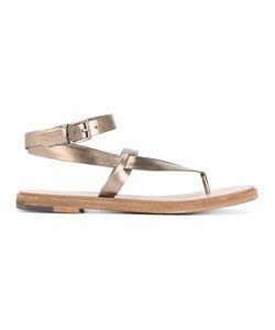 Roberto Del Carlo | Ankle Strap Slip Flops Size 37