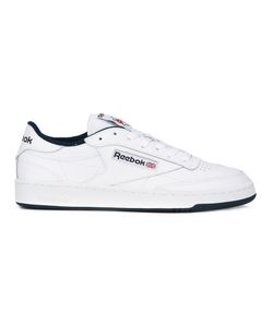 Reebok | Lateral Patch Lace-Up Sneakers 10 Leather/Rubber/Cotton