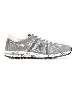 Premiata | Embellished Lace-Up Sneakers 36
