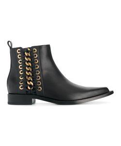 Alexander McQueen | Ботинки Со Шнуровкой Сбоку