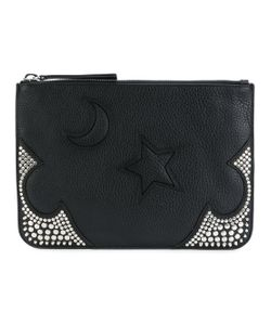 Mcq Alexander Mcqueen | Moon And Star Embossed Clutch