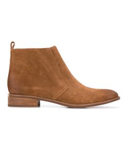 Michael Michael Kors | Ankle Length Boots 8 Leather/Rubber/Suede