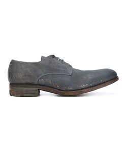 A DICIANNOVEVENTITRE | Distressed Derby Shoes