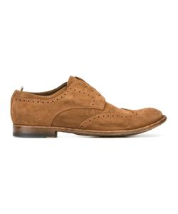 Officine Creative | Laceless Brogues 42.5 Leather/Suede