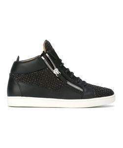 Giuseppe Zanotti Design | Clay Mid-Top Sneakers 41.5 Calf