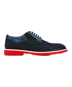 Dolce & Gabbana | Contrast Panel Lace-Up Brogues Size 43