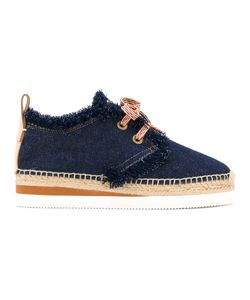 See By Chloe | See By Chloé Denim Lace-Up Shoes