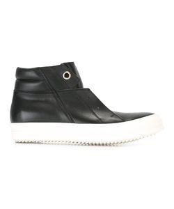 Rick Owens   Islang Dunk Hi-Top Sneakers 43 Leather/Calf
