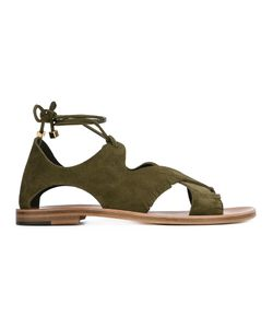ÁLVARO | Alda Sandals 38 Calf Suede/Leather