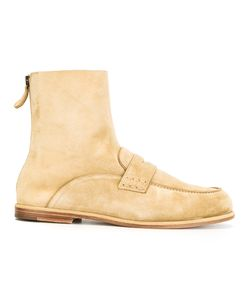 Loewe | Loafer Ankle Boots 42 Leather/Suede
