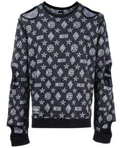Ktz | Inside Out Cut-Off Sweatshirt Adult Unisex Large Cotton