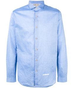 DNL | Spread Collar Shirt 42 Cotton/Polyamide