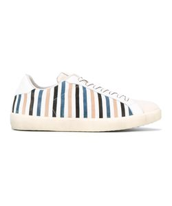 Leather Crown | Moneside 13 Striped Sneakers Size 44