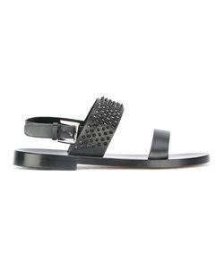 Louis Leeman | Studded Trim Sandals 42