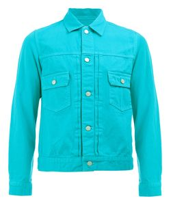 GANRYU COMME DES GARCONS   Flap Pockets Denim Jacket Small