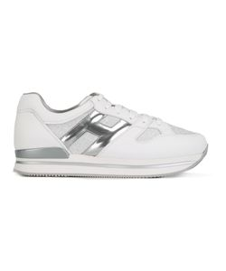 Hogan | Detail Sneakers 36.5 Calf Leather/Leather/Rubber Fibre