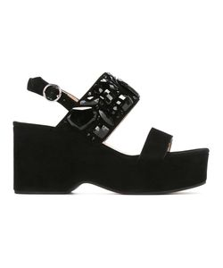 Marc Jacobs | Lily Embellished Wedge Sandals 39 Goat