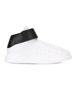 Alexander McQueen | Hi-Top Lace-Up Sneakers 40 Artificial Leather/Foam