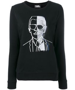 Karl Lagerfeld | Karl Print Sweatshirt Size Large