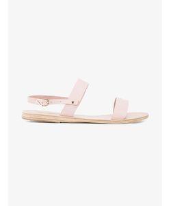 ANCIENT GREEK SANDALS | Clio Flat Sandals 40 Leather/Rubber
