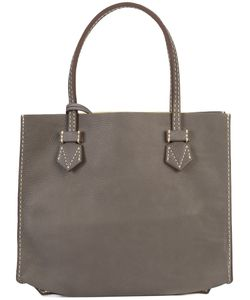 Moreau | Stitch Detail Square Shoulder Bag Women