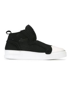 Bruno Bordese | Contrast Slip-On Sneakers 40 Leather/Rubber
