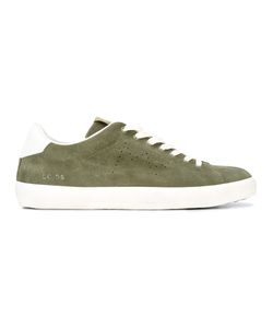Leather Crown | Classic Lace-Up Sneakers Size 40