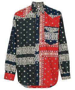 MOSCHINO VINTAGE | Рубашка С Принтом