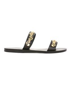 ANCIENT GREEK SANDALS   Poulia Sandals 37 Leather/Rubber