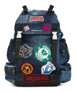 Dsquared2 | Akira Patch Detail Backpack