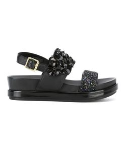 Ash | Embellished Platform Sandals 37