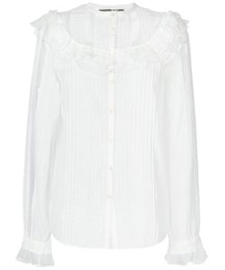 Mcq Alexander Mcqueen | Рубашка С Присборенной Отделкой