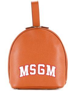 MSGM | Logo Print Backpack