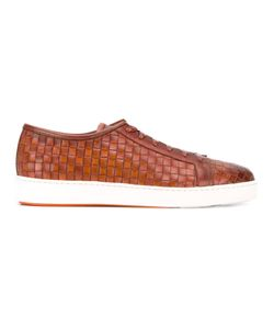 Santoni   Woven Sneakers 7