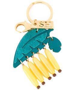 Sophie Hulme | Bananas Keychain Leather/Brass/Plastic