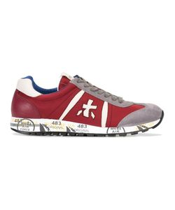 PREMIATA WHITE | Lucy Sneakers 40 Cotton/Suede/Leather/Rubber