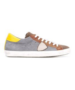 Philippe Model | Mixed Panel Lace-Up Sneakers Size 46