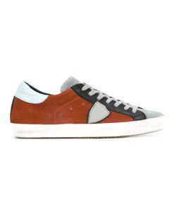 Philippe Model | Mixed Panel Lace-Up Sneakers 42