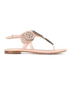 Unützer | Laser Cut Sandals Size 38