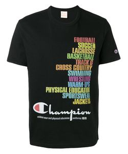 Champion | Printed Logo T-Shirt Size Small