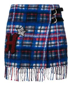 Hilfiger Collection | Patch Checked Skirt Women