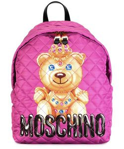 Moschino | Bear Print Backpack Polyester