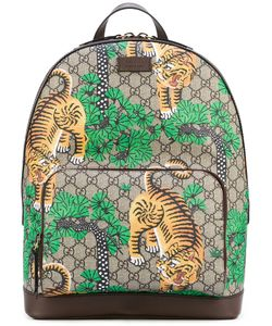 Gucci | Bengal Leather Trim Backpack