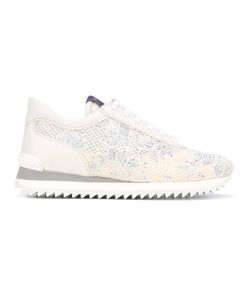 Le Silla | Embellished Lace Trainers